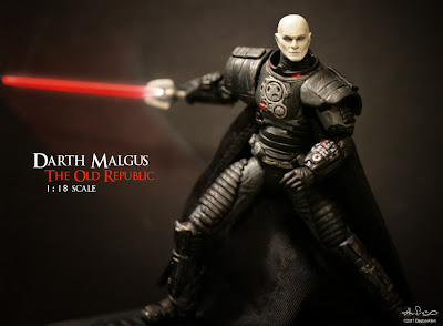 Darth%2BMalgus19 Star Wars custom action figures by Dayton Allen