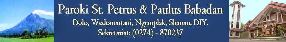 Paroki St. Petrus & Paulus Babadan