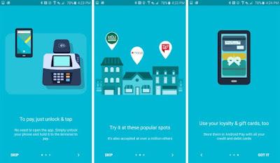 Wow, Google Resmi Rilis Android Pay
