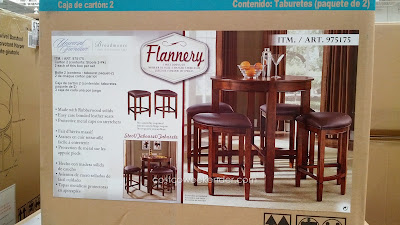 Entertain like a pro with the Universal Furniture Broadmoore Flannery Counter Height Dining Set