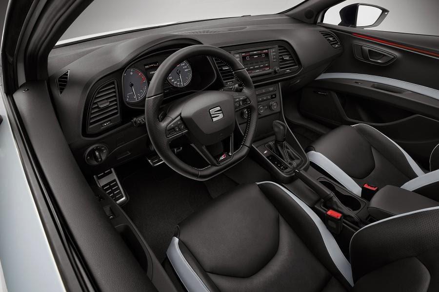 Seat Leon Cupra 280 (2014) Interior
