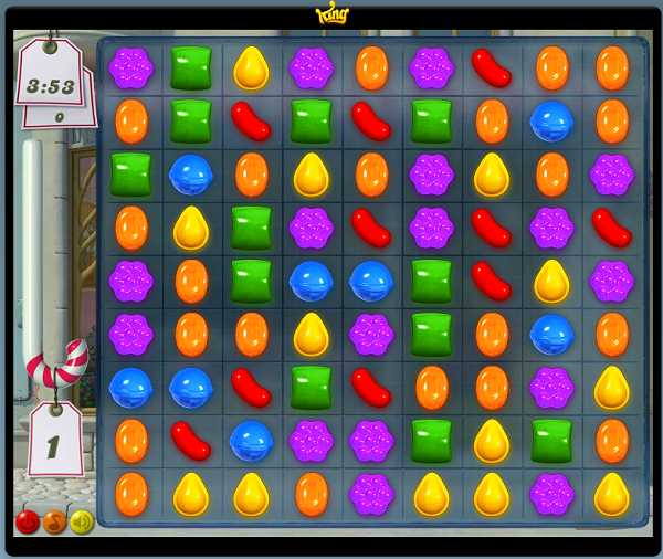 free online game called candy crush