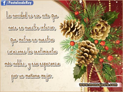 Postales con frases navideñas - Mensajes para Amor | Postales ...