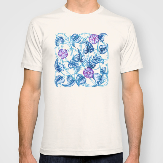 floral_pattern_T-shirt