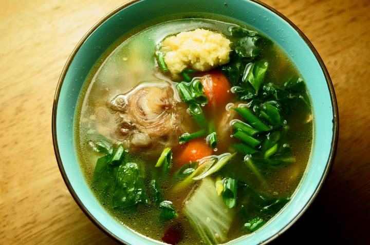 Oxtail Soup Recipe   thumb in plum