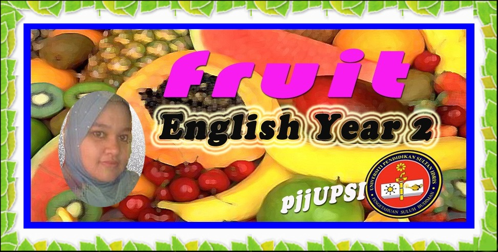 English Year 2 - fruit