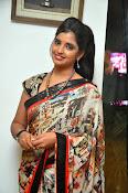 Syamala glamorous photos in saree-thumbnail-19