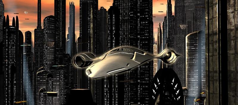 Future Concept Technology Concept of The Future