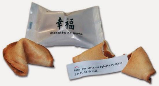 Biscoitos da Sorte -  Crônica