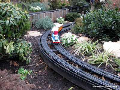 Train Garden - A Longwood Gardens PhotoJournal, Part One on Homeschool Coffee Break @ kympossibleblog.blogspot.com
