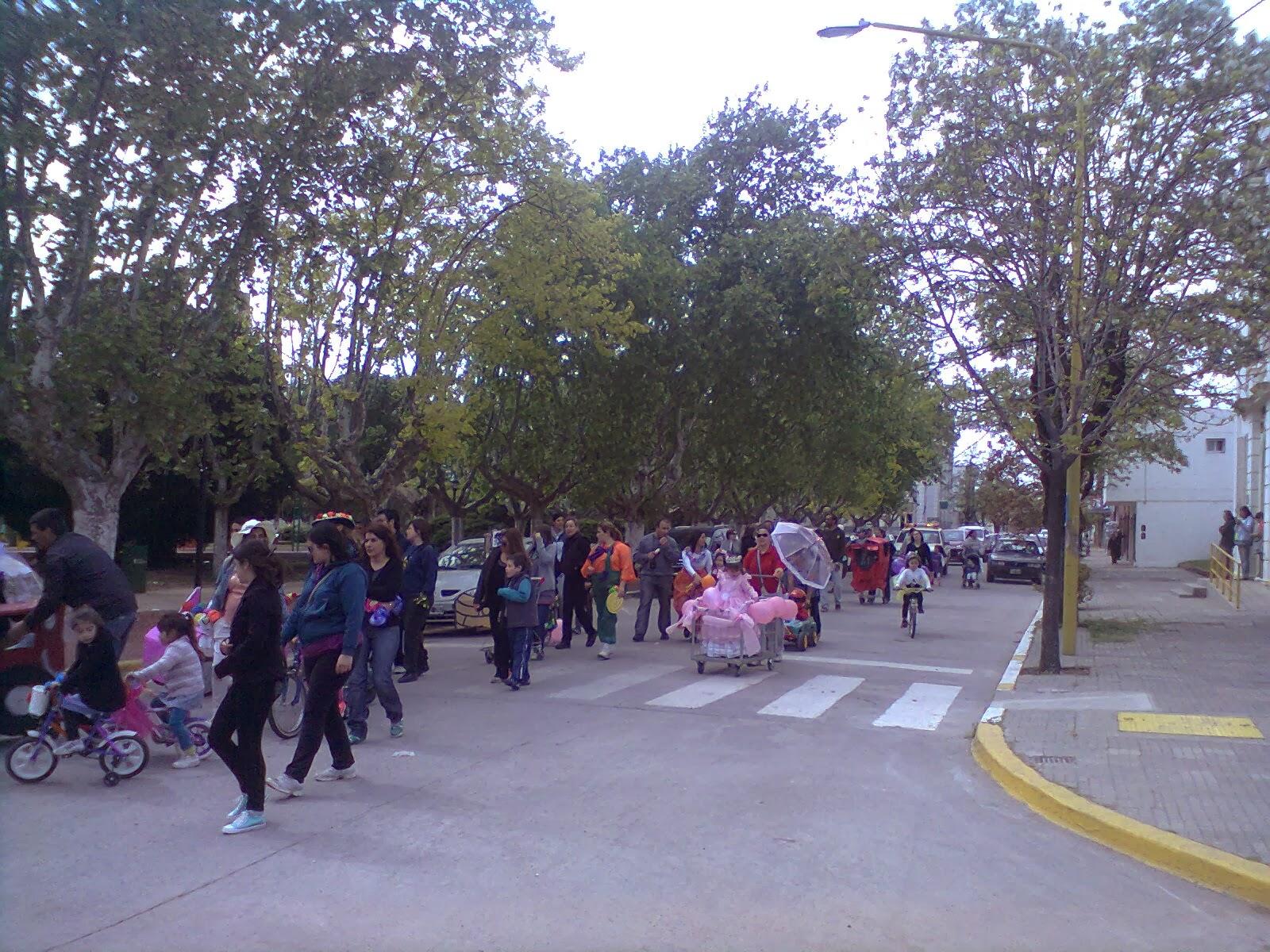 Caminata organizada por el jardin 901 el transito en chaves for Jardin 901
