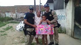 Natal solidário da Polícia Rodoviária Federal de Alagoas