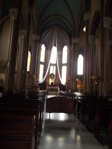 Internal view of Saınt Antoıne Church(St Anthony Church).