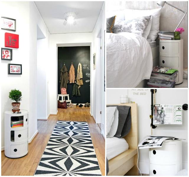 Componibili diferentes espacios de la casa