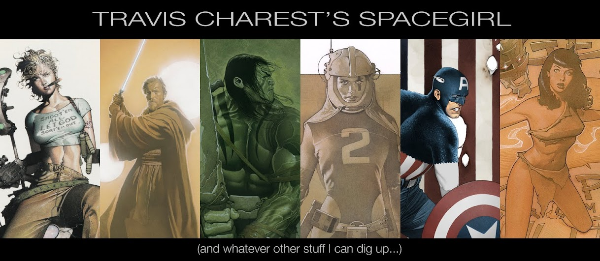 TRAVIS CHAREST'S SPACEGIRL