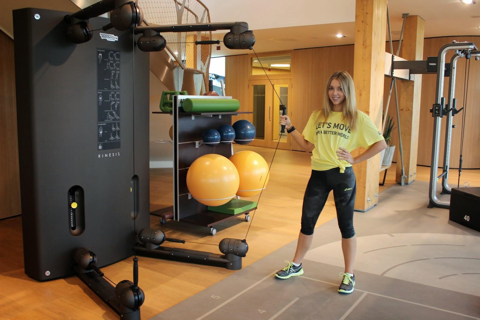 Technogym Wellness Village Gym Workout Kinesis Natalie