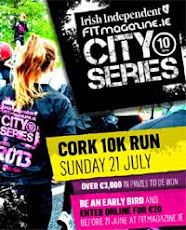 FIT Magazine City Series 10k race in Cork...€3000 in prizes...Entry includes dri-fit top...