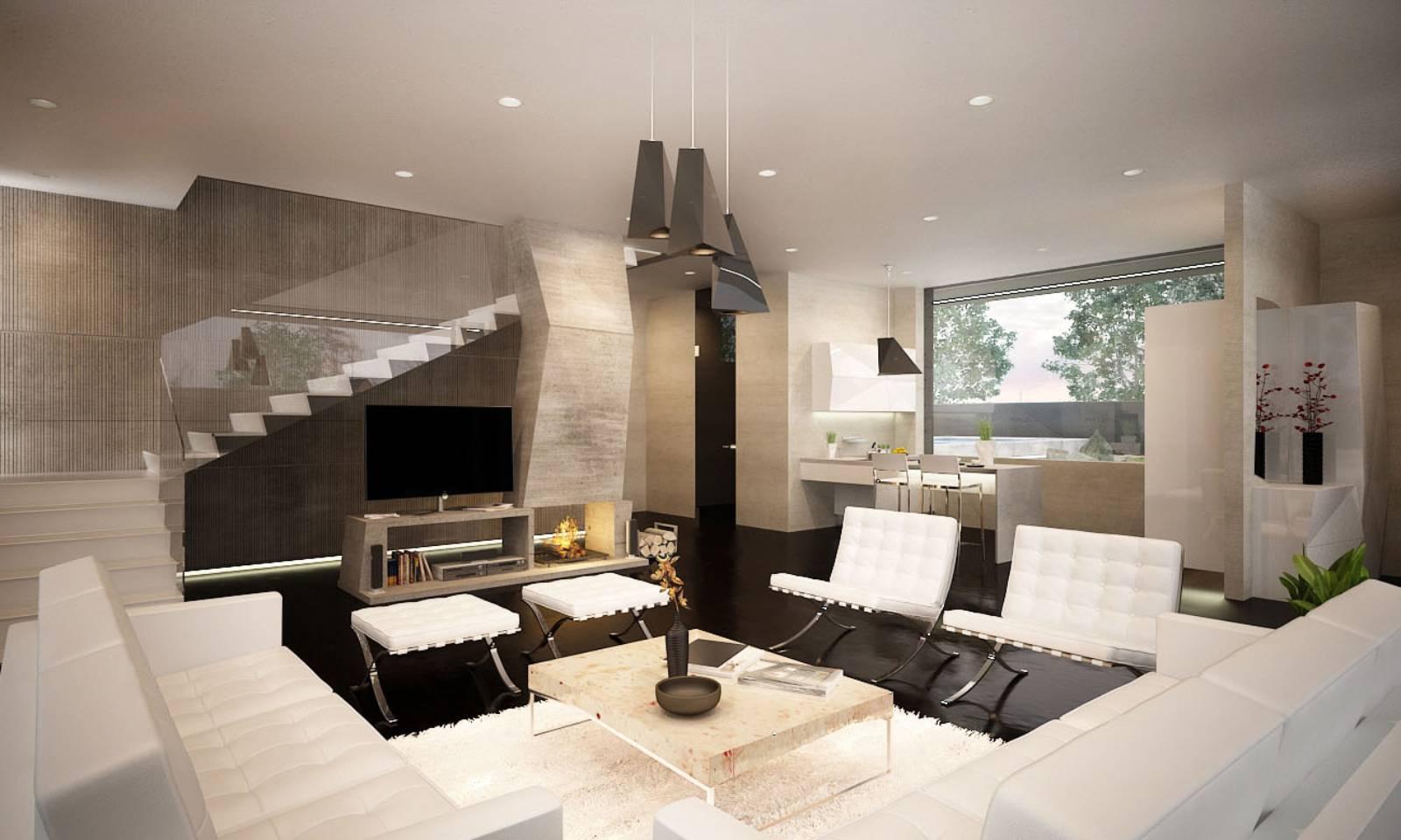 m house by marcel luchian studio - Arredamento Studio Moderno