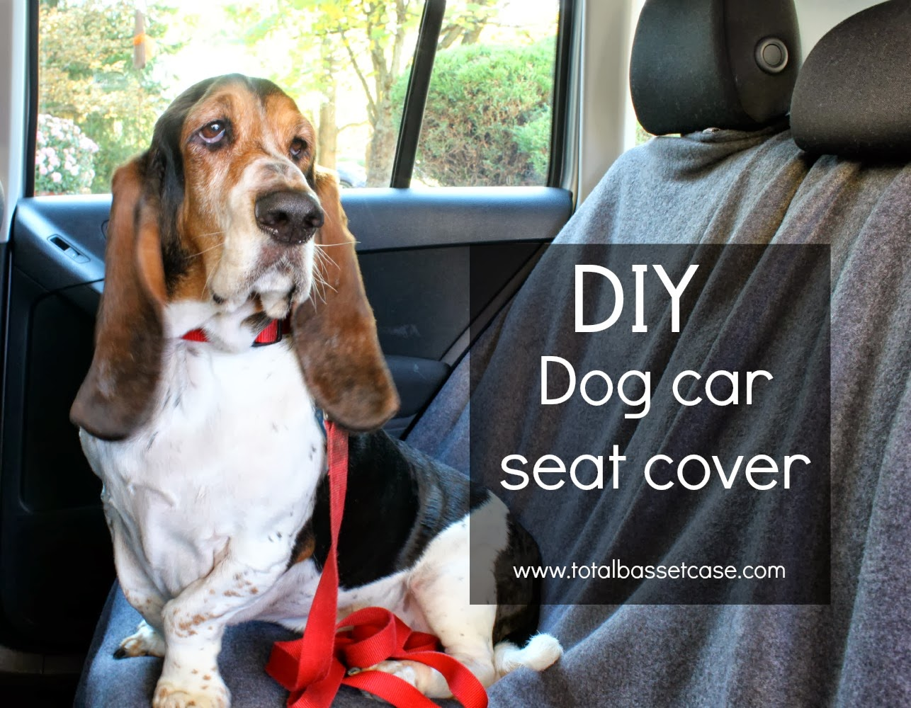 DIY Dog Car Seat Cover