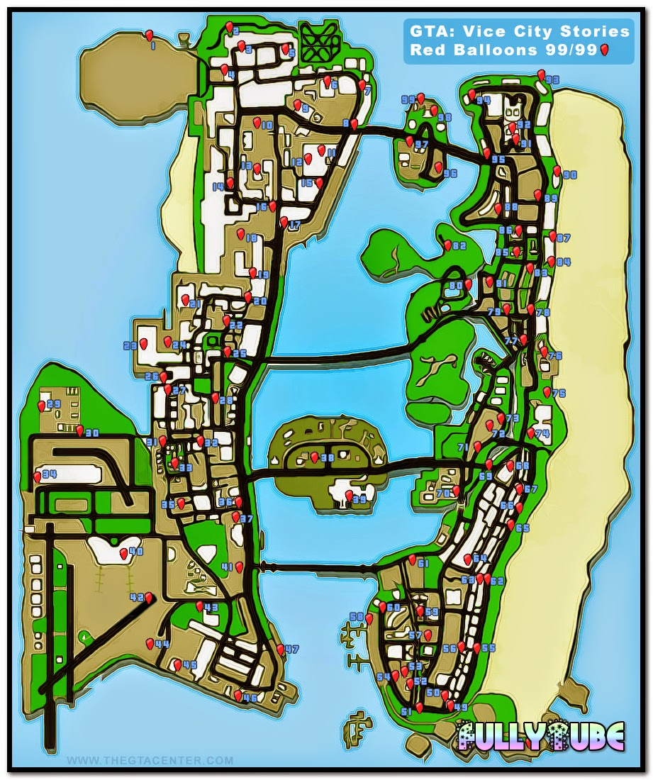 GTA Vice City Full Graph