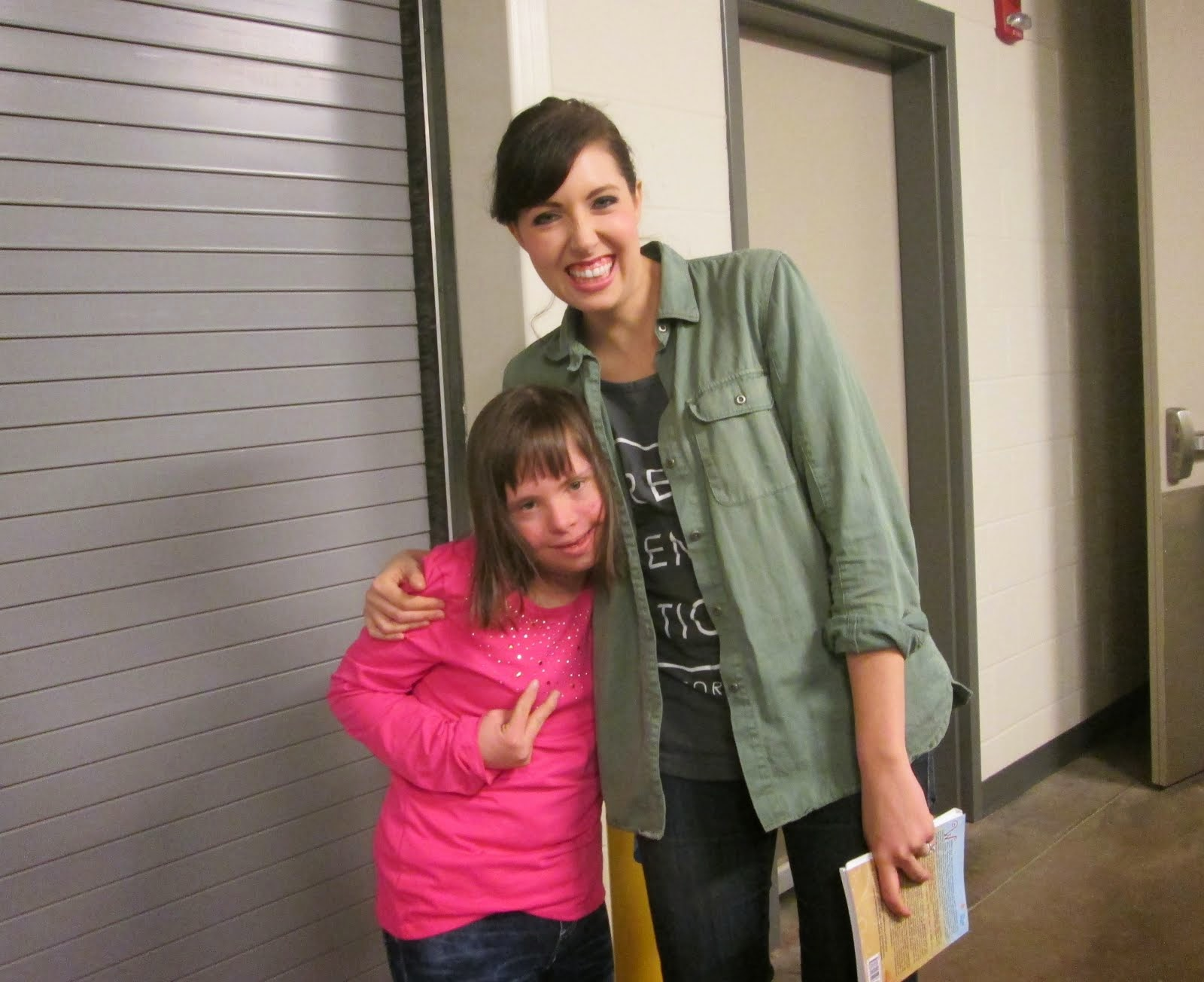 Chloe meets International Christian Recording Artist Francesca Battistelli