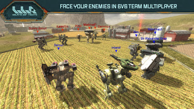 Walking War Robots V1.0.1 MOD Apk-screenshot-4