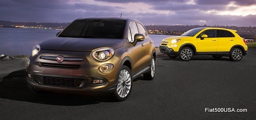 Fiat 500X Lounge and Trekking Plus
