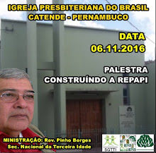 06.11.2016 - PALESTRA DOMINICAL