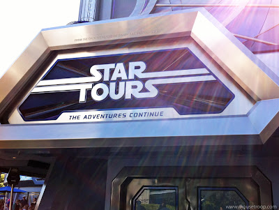 Star Tours Disneyland Tomorrowland Disney flight simulator