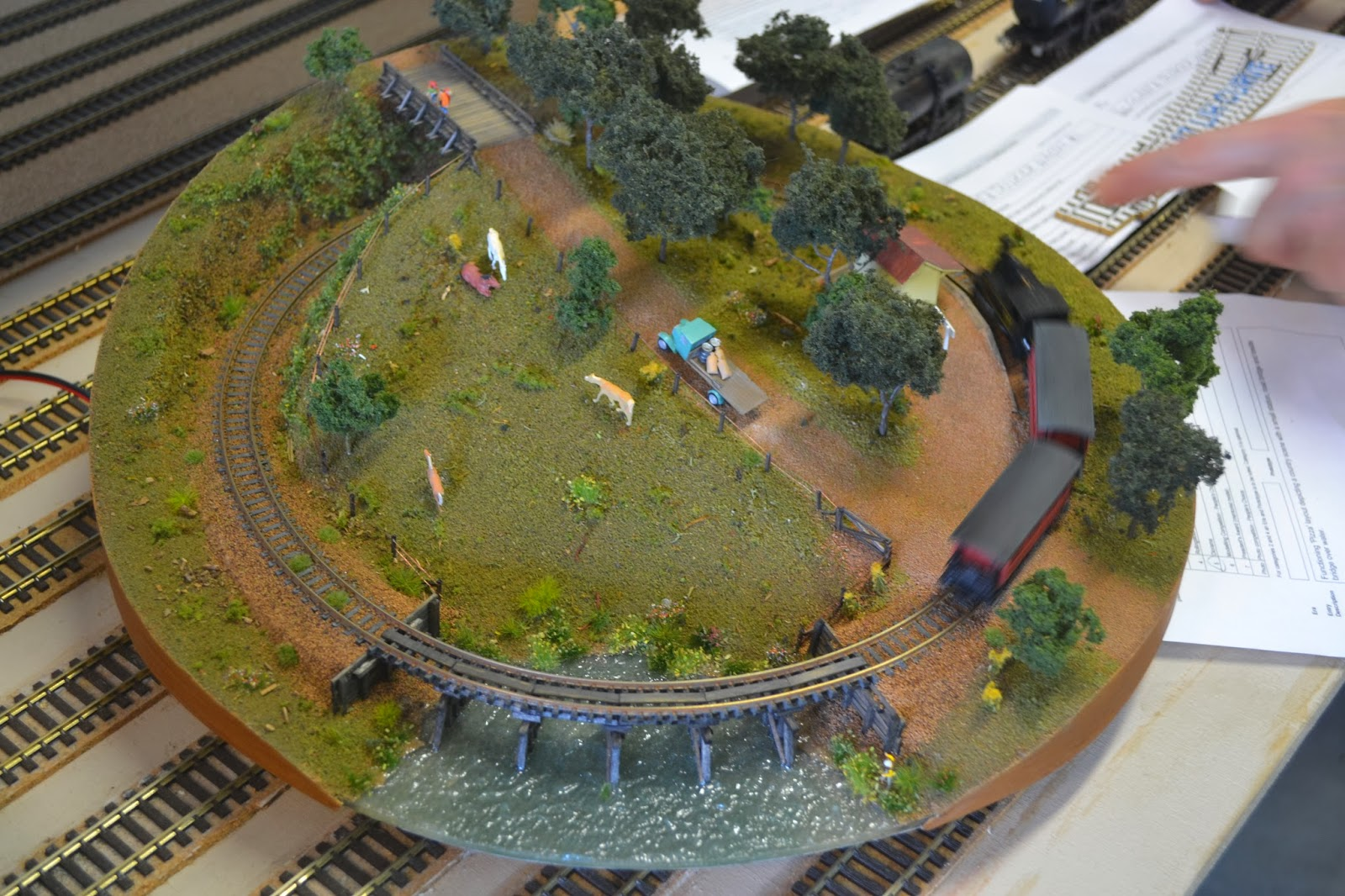 Small N Scale Layouts