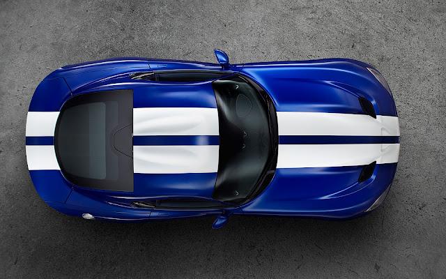 SRT Dodge Viper GTS Launch Edition - Wallpaper Top