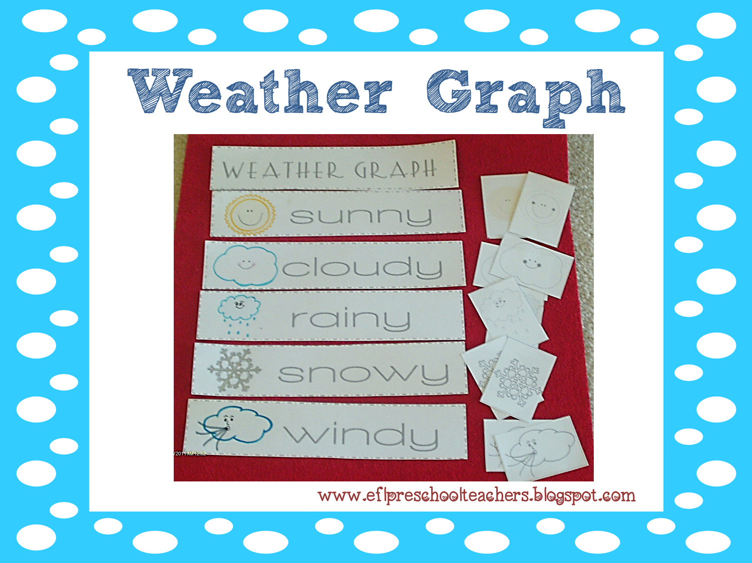 ESL/EFL Preschool Teachers: Weather Theme Resources for the ELL