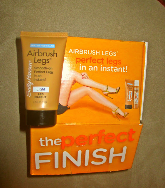TRIED IT: Makeup for Your Legs? Using Sally Hansen's Airbrush Legs leg makeup