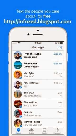 Download Facebook Messenger for Android, Apple iPhone and Windows for Free Video Calls