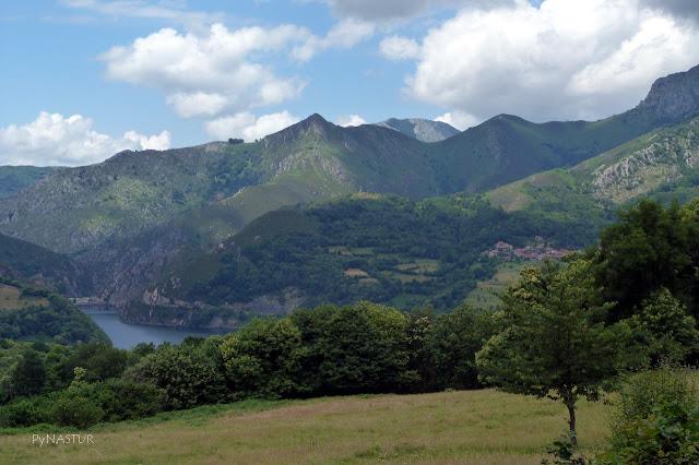 Embalse de Rioseco Asturias