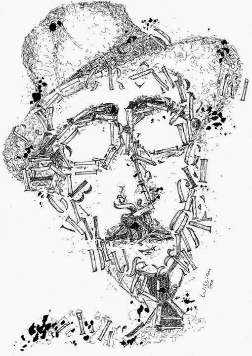Fernando Pessoa, William MR, desenho