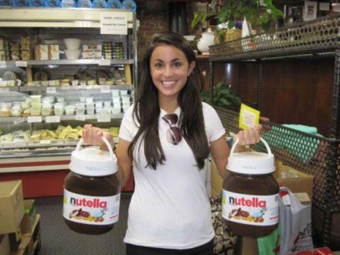 Nutella Nutella Everywhere!