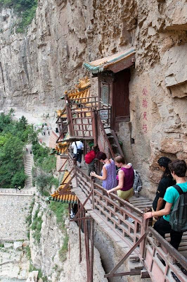 Hanging Temple in China