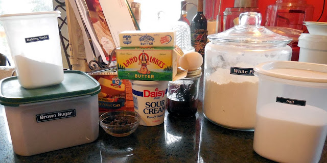 ingredients for Chocolate Surprise Loaf #HolidayButter #shop #cbias