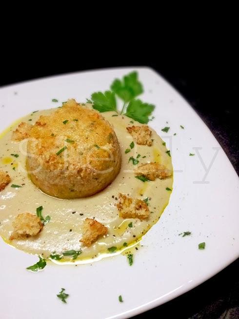Favoloso SLELLY: IL MARE D'INVERNO - Tortini di pesce con crema di carciofi  FH35