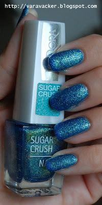 naglar, nails, nagellack, nail polish, isadora, sugar crush, liquid sand