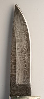 Damascus steel dagger