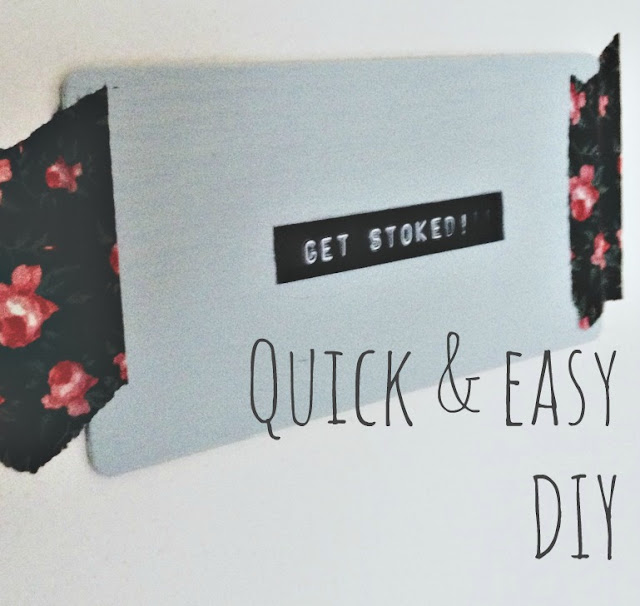 Quick Easy Diy Wall Art : Amberzonbie quick easy wall art diy