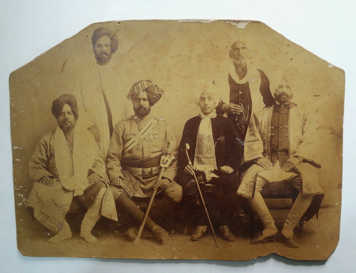 Sikh Prince and Group - Date Unknown