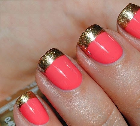 lush fab glam blogazine mani monday style me pretty in
