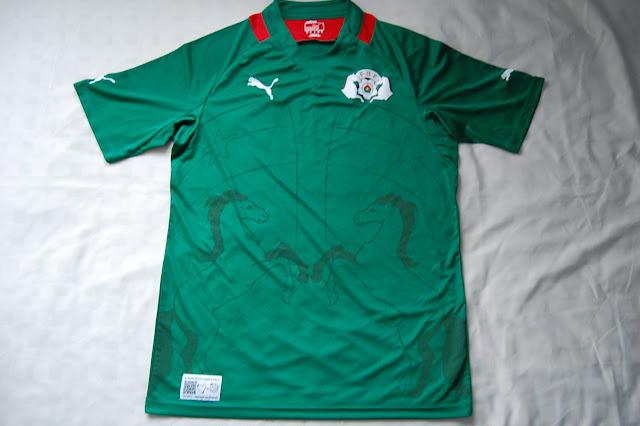 Burkina Faso football shirt
