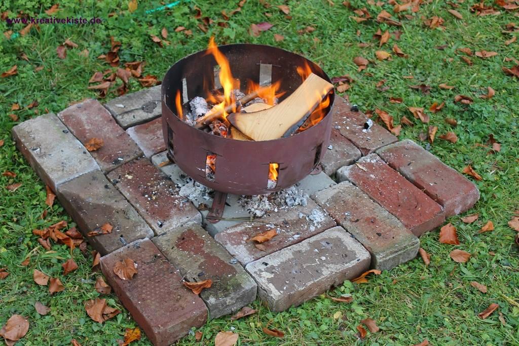 feuerschale selber bauen backburner grill nachr sten. Black Bedroom Furniture Sets. Home Design Ideas