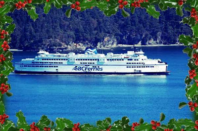 Nanaimo B.C. Ferries Christmas 2013 Schedule