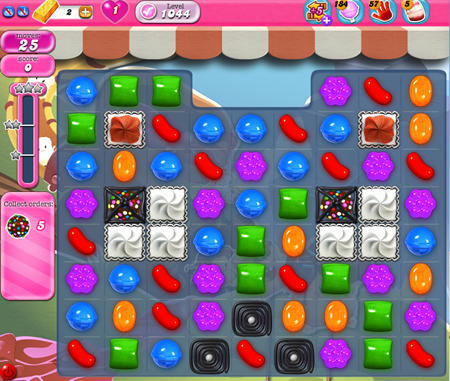 Candy Crush Saga 1044