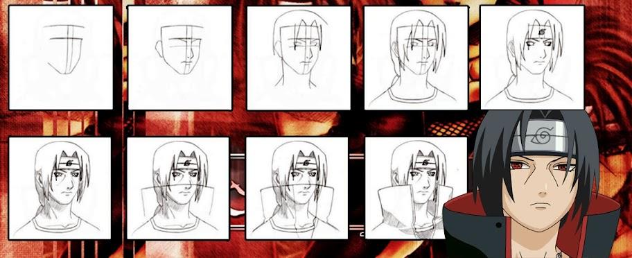 Tutorial menggambar karakter orang dengan pensil